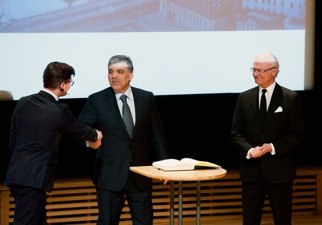 SUITS opening ceremony with King Carl XVI Gustaf and Turkish President Abdullah Gül