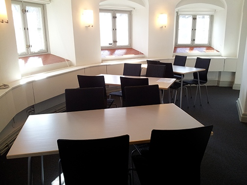 ... is a new place for students to study and have lunch in Frescati hage