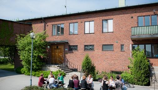 Fakultetsklubbens hus vid Stockholms universitet