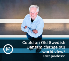 Sven Jakobsson talks about the Old Swedish Bantam