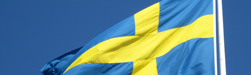 Swedish flag. Photo: Mostphotos