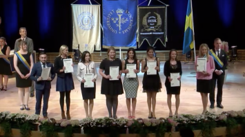 Master's degree ceremony spring 2015