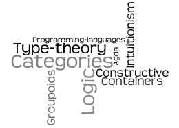 Categories, type-theory, logic, agda, constructive, intuitionism, containers, groupoids, programming