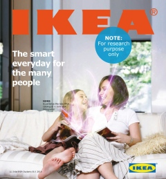 Design fiction Ikea-katalog.