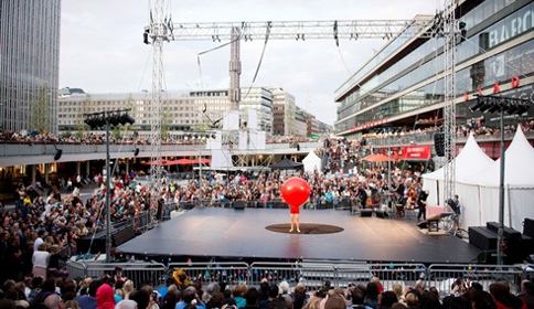 New Circus at Sergels torg. Photo: Eva Dalin