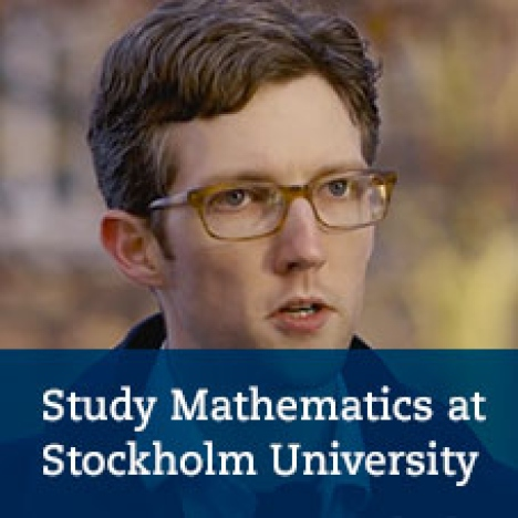 Studies in mathematics and mathematical statistics - Meet our students