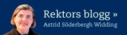 Stockholms universitets rektors blogg Astrid Söderbergh Widding