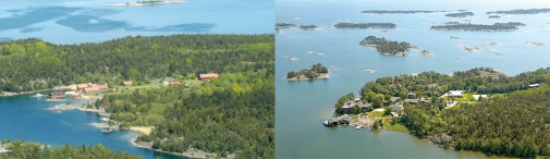 Have a visit at three research stations in the beautiful Baltic Sea archipelago. Askö (left) and Tvärminne (right).