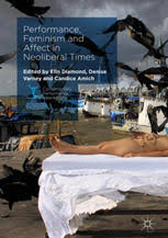Omslaget av boken Performance, Feminism, and Affect in Neoliberal Times, New York: Palgrave MacMillan, 2017.