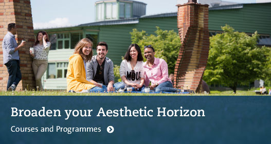 Broaden your Aesthetic Horizon. Courses and Programmes. Photo: Eva Dalin