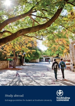 Front cover of Study abroad handbook