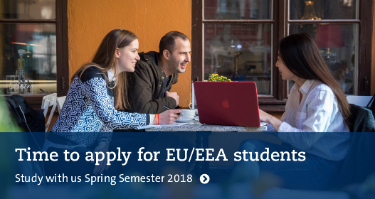 Time to apply for EU/EEA students