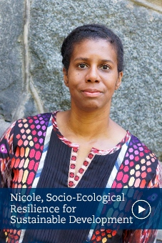 Nicole, alumni, social–ecological resilience for sustainable development, stockholm university