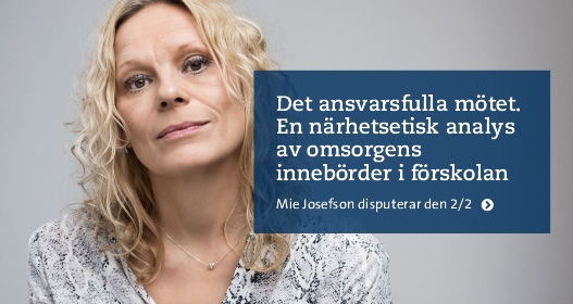 Disputation: Det ansvarsfulla mötet.