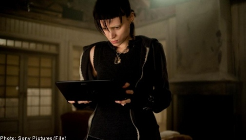 "Scene from ""The Girl with The Dragon Tattoo"", starring Daniel Craig and Rooney Mara"