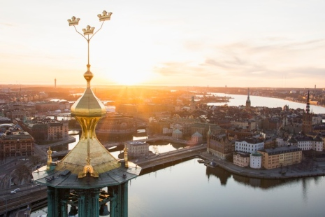 Photo of the city of Stockholm. Photo Bjorn Olin/Folio