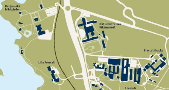 Karta Stockholms Universitet.Bergianska Tradgarden Stockholms Universitet