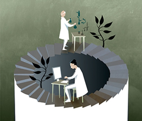 Illustration: © Johan Jarnestad/The Royal Swedish Academy of Sciences