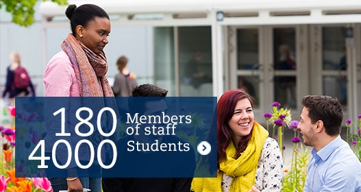 180 members of staff 4000 students
