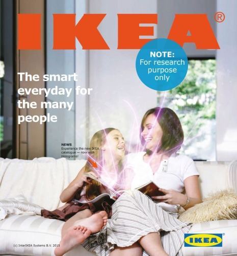 Design fiction Ikea catalogue