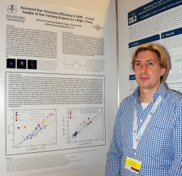Johannes Puschnig at IAU conference: galaxies in 3D across the Universe