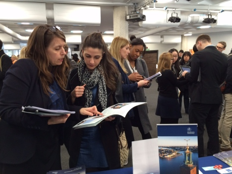 Stockholm University at QS education fair