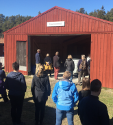 Round tour of Askös research facilities.