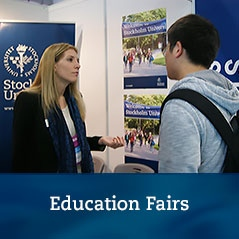 Banner for Education Fairs