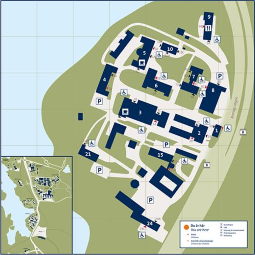 su karta Kräftriket   Stockholm University su karta