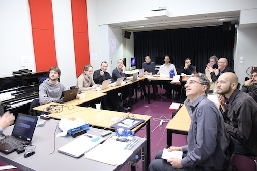 "Researchers from the different collaborative partners of  ""SKAT-VG"" at the project kick-off meeting in Venice, 2014."