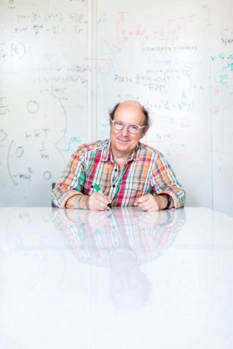 Frank Wilczek at Stockholm University. Photo: Niklas Björling