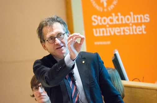 Bernard L. Feringa visited Stockholm university, arranged by PhD students.