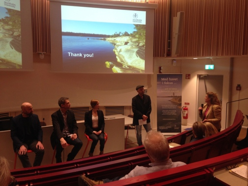Panel discussion at Baltic Seminar