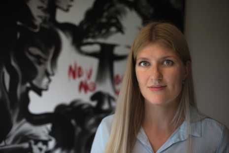 Beatrice Fihn. Foto: ICAN