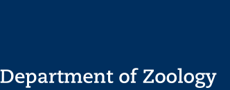 Logotype Department of Zoology