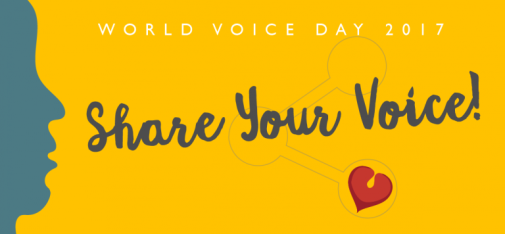 World Voice Day 2017. Illustration: http://2017.world-voice-day.org/