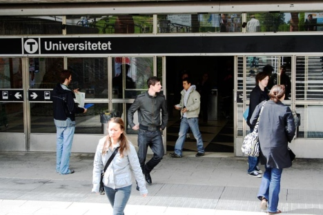 Getting to Stockholm University