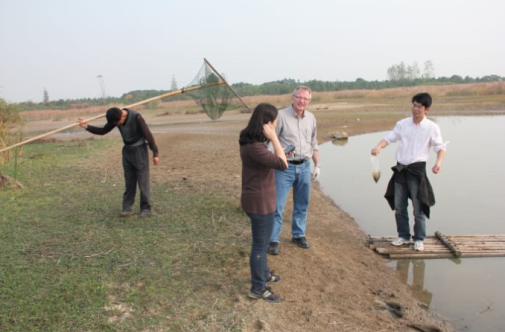 Research at the Yangzte River Delta