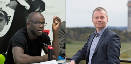 Lilian Thuram and Johan Kuylenstierna will discuss issues concerning climate and refugees.