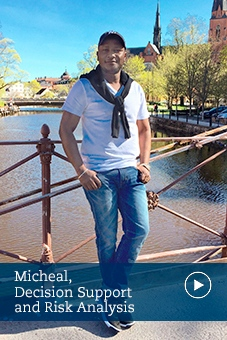 Micheal, alumni, decision support and risk analysis, stockholm university
