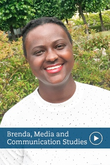 Brenda, alumni, media and communication studies, stockholm university