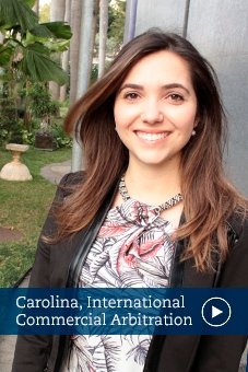 Carolina, alumni, international commerical law, ICAL, stockholm university
