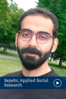 Sepehr, alumni, applied social research, sociology, stockholm university