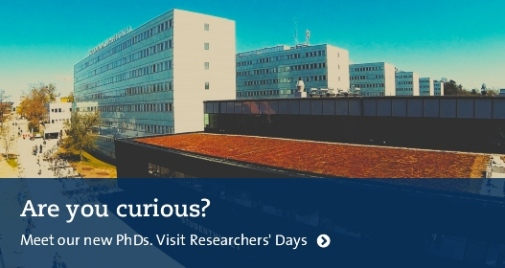 Researchers' days 2017