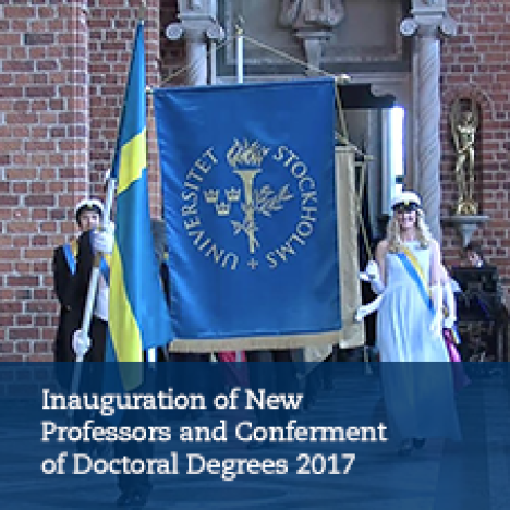 Inauguration of New Professors and Conferment of Doctoral Degrees 2017