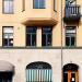 Apartment house in Stockholm city. Photo: Katharina Deppisch