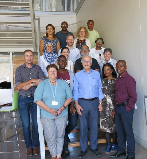 Participants on day two of the BMI Project Meeting.
