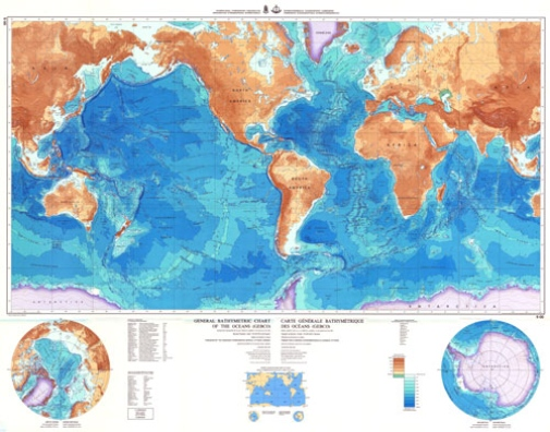 GEBCO World Map - Department of Geological Sciences