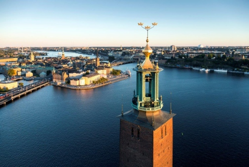 Stockholm City Hall by Henrik Trygg