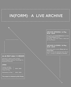 In(form) – a Live Archive